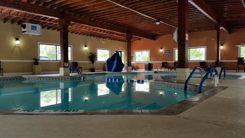 Indoor Pool Ocean City Condo Rental Club Ocean Villa Oc